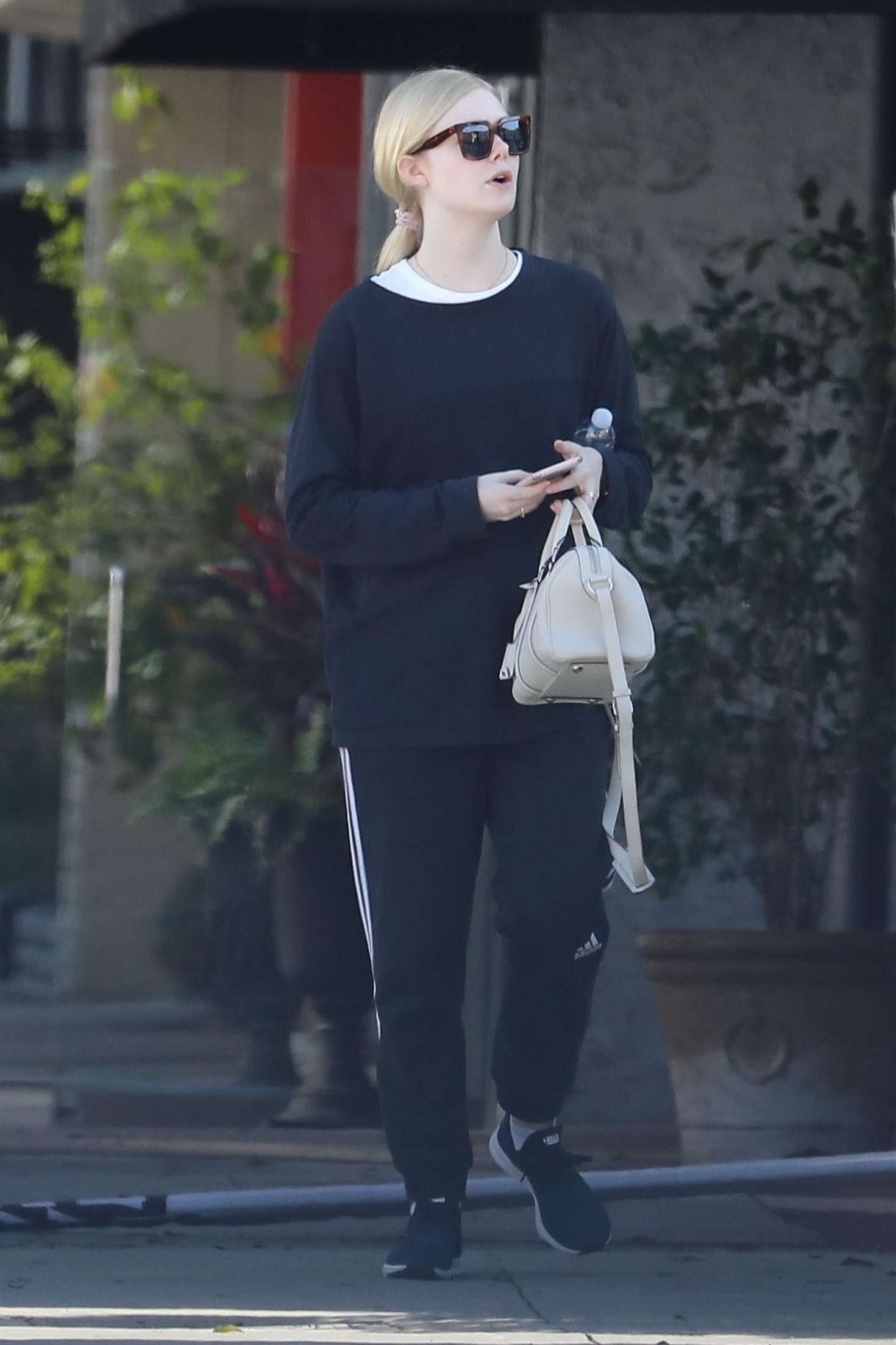 Elle Fanning - Out in Los Angeles