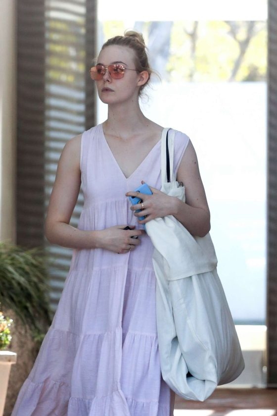 Elle Fanning - Shopping in West Hollywood