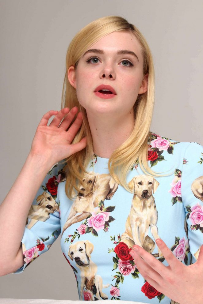 Elle Fanning – The Beguiled Press Conference -02