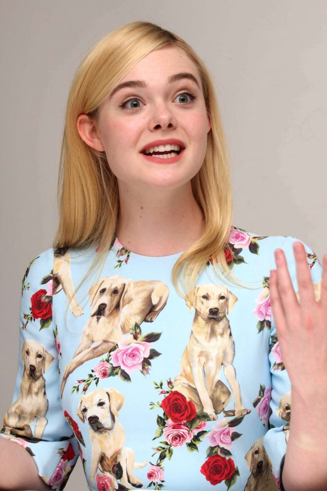 Elle Fanning - 'The Beguiled' Press Conference in Beverly Hills