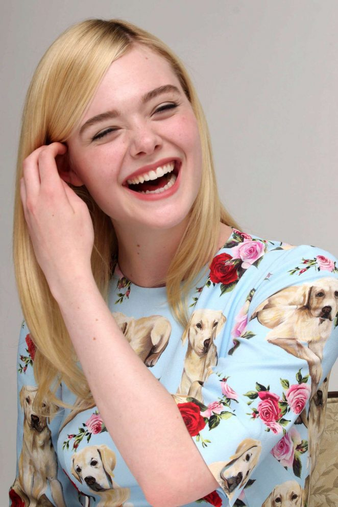 Elle Fanning – The Beguiled Press Conference -11