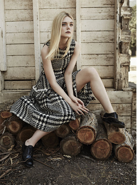 Elle Fanning - The Edit Magazine (September 2015)