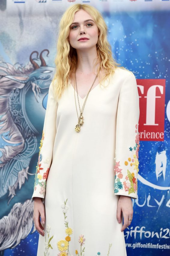 Elle Fanning - The Giffoni International Film Festival in Giffoni Valle Piana
