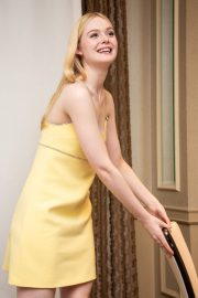 Elle Fanning - 'The Great' Press Conference in Beverly Hills