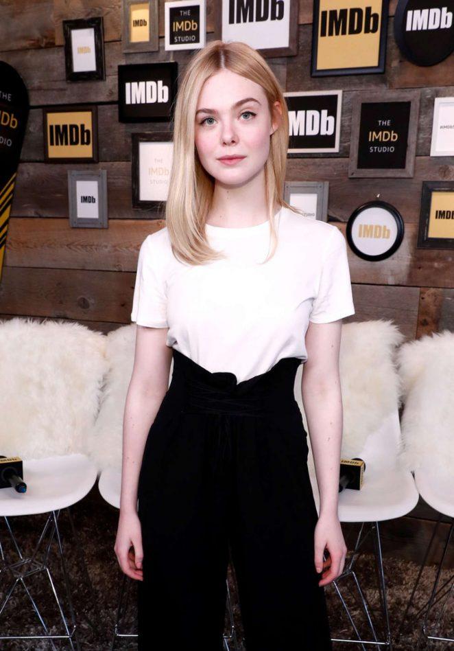 Elle Fanning - The IMDb Studio at The 2017 Sundance Film Festival in Utah
