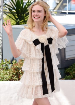 Elle Fanning - 'The Neon Demon' Photocall at 2016 Cannes Film Festival