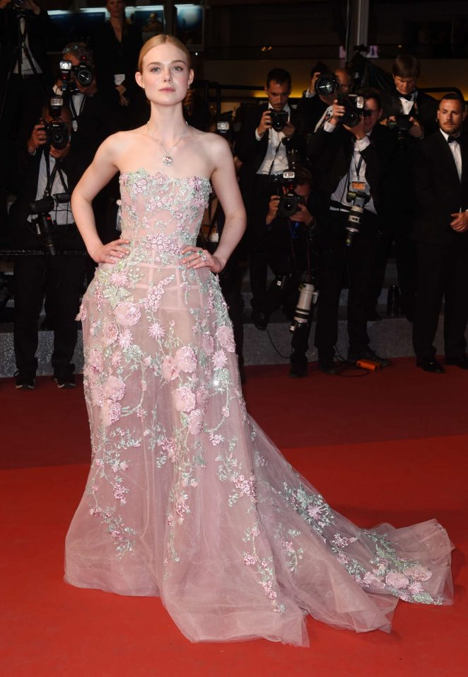 Elle Fanning: The Neon Demon Premiere at 2016 Cannes Film Festival -12