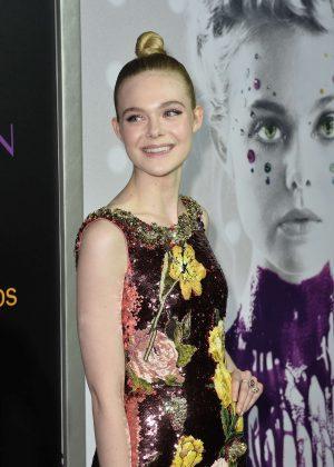 Elle Fanning - 'The Neon Demon' Premiere in Los Angeles
