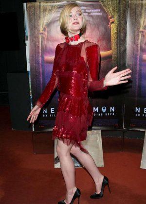 Elle Fanning - 'The Neon Demon' Premiere in Paris