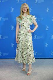 Elle Fanning - 'The Roads Not Taken' Photocall at Berlin Film Festival