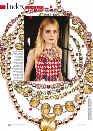 Elle Fanning - Vogue US Magazine (September 2015)