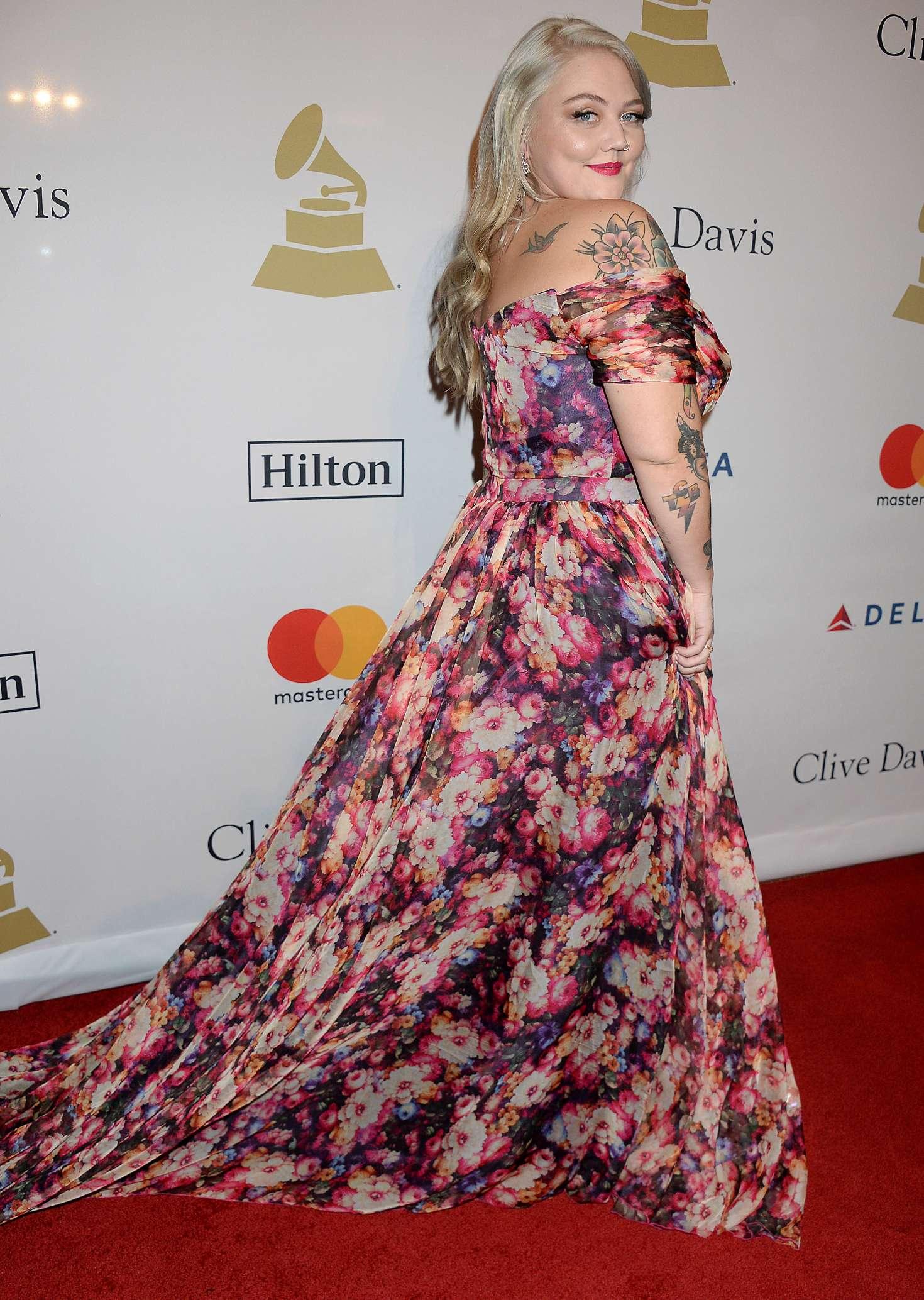 Elle King - Clive Davis Pre-Grammy Party 2017 in Los Angeles