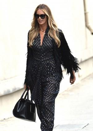 Elle MacPherson - Arrives Jimmy Kimmel Live in Hollywood
