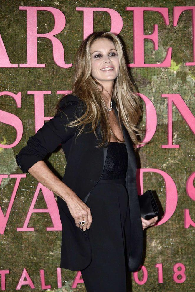 Elle MacPherson - Green Carpet Fashion Awards 2018 in Milan