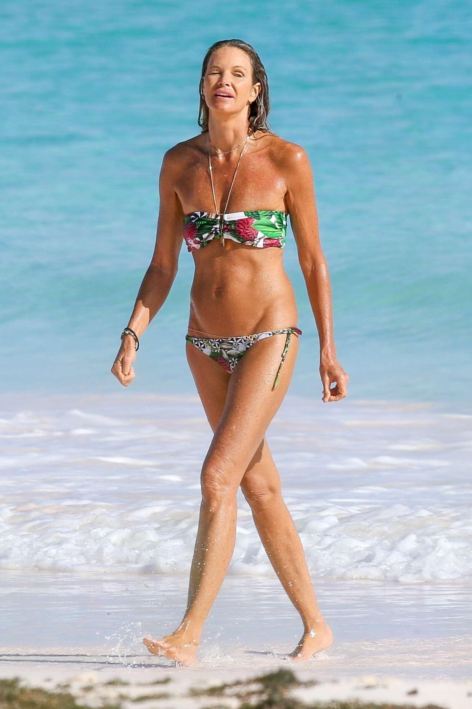 Elle Macpherson in Bikini 2018 -17