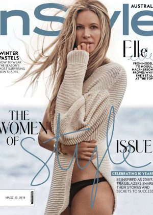 Elle Macpherson - InStyle Australia Magazine (June 2018)