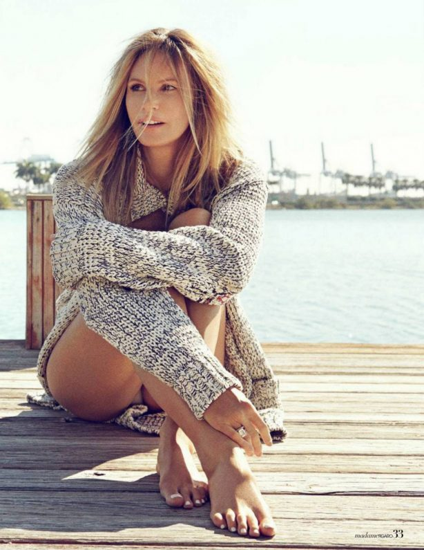 Elle MacPherson - Madame Figaro magazine (July 2020 issue)