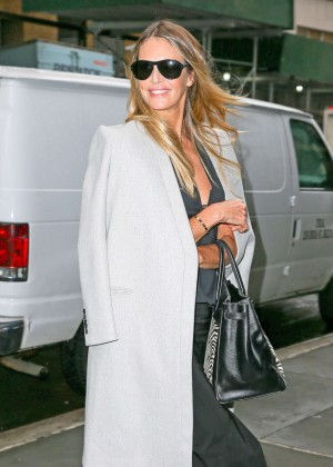 Elle Macpherson Out in New York City