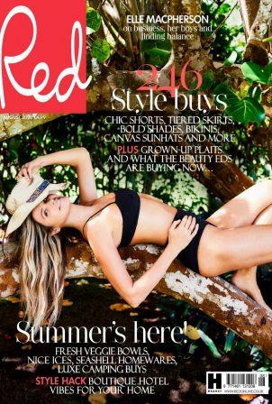 Elle MacPherson - Red Magazine (UK - August 2020 isseu)