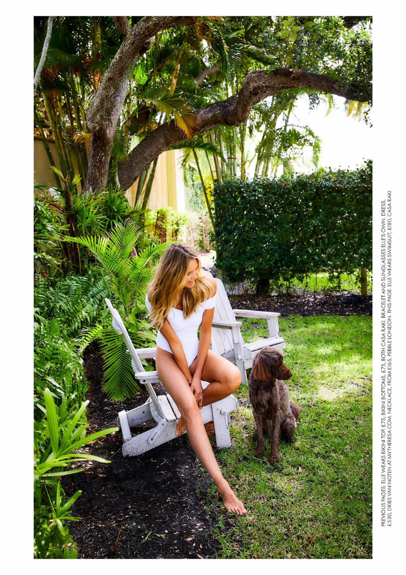 Elle MacPherson 2020 : Elle Macpherson – Red UK Magazine 2020-05