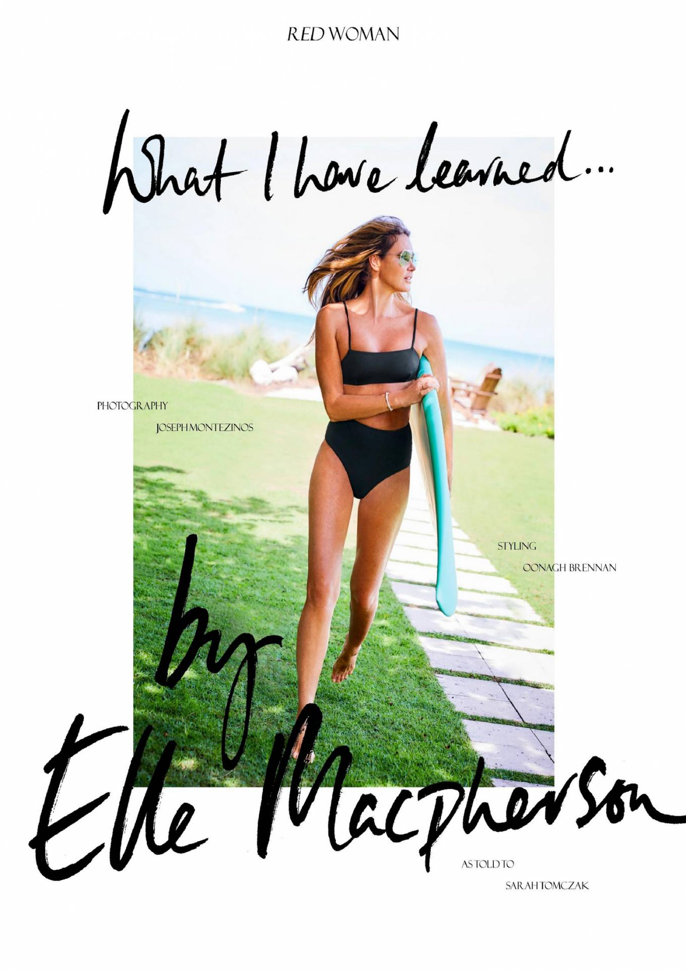 Elle MacPherson 2020 : Elle Macpherson – Red UK Magazine 2020-08