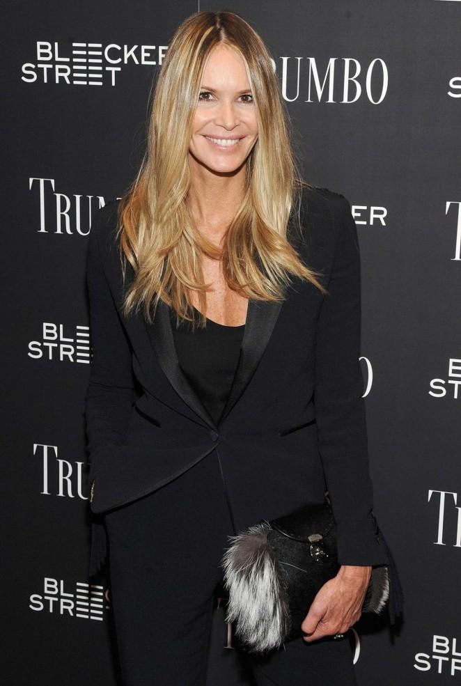 Elle Macpherson – 'Trumbo' Premiere in New York