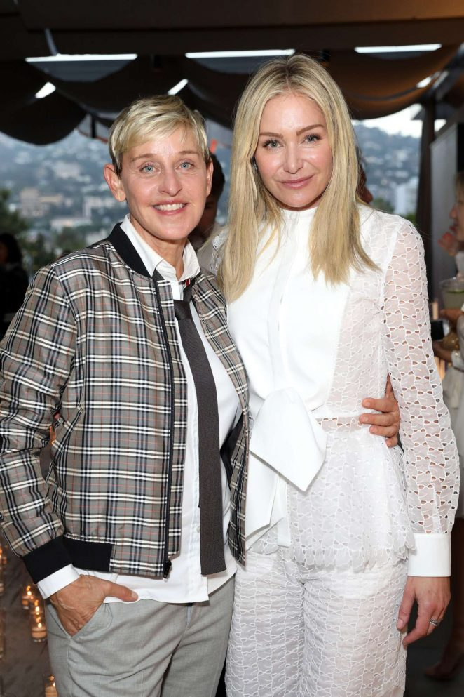 Ellen DeGeneres and Portia de Rossi – Restoration Hardware x General Public Launch in LA