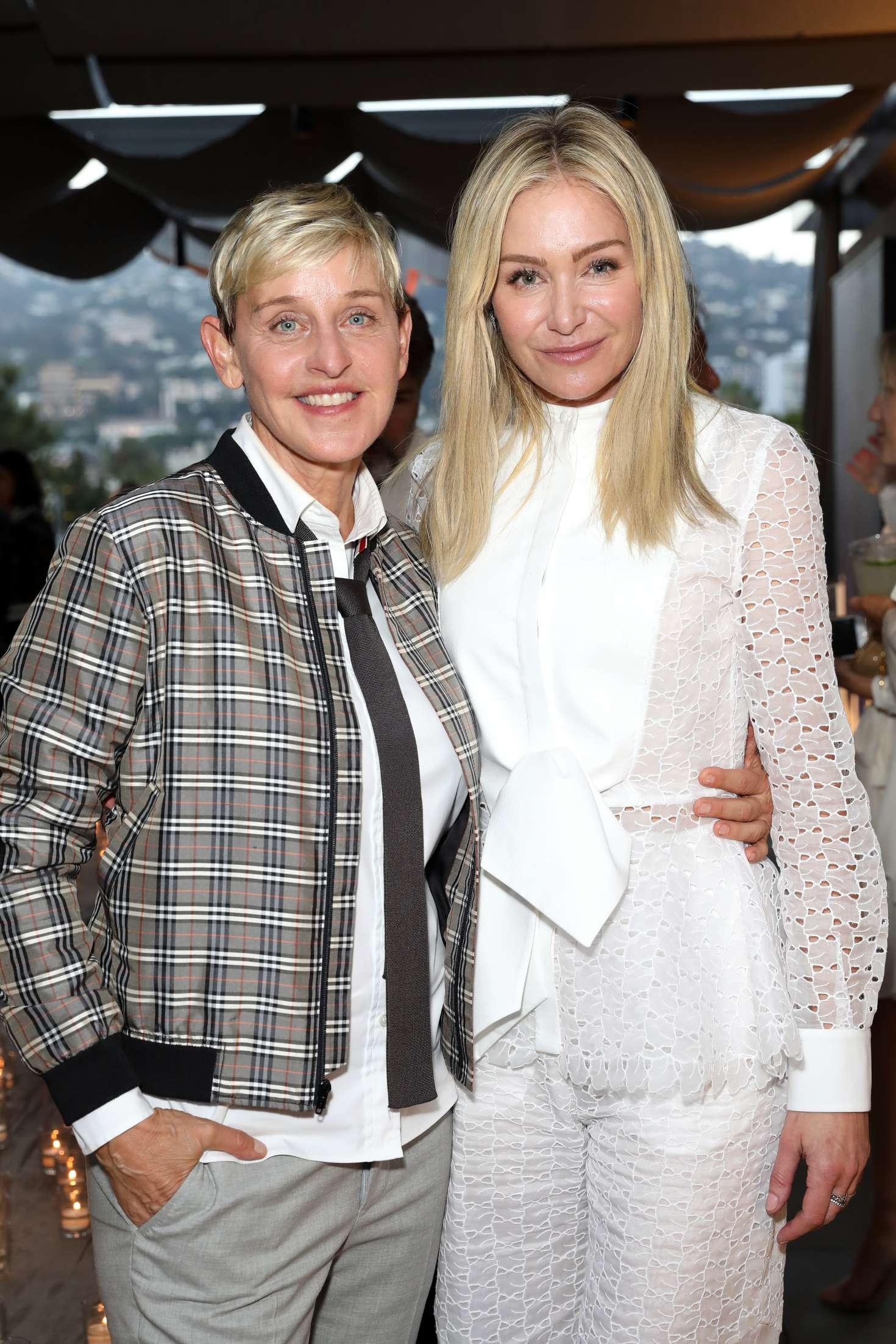 Ellen DeGeneres and Portia de Rossi - Restoration Hardware x General Public Launch in LA
