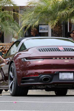Ellen DeGeneres - With $181950 new Porsche 911 Targa 4S Heritage Design Edition