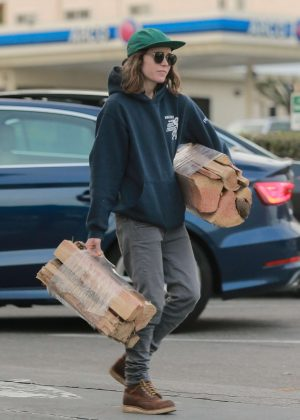 Ellen Page at Bristol Farms in West Hollywood