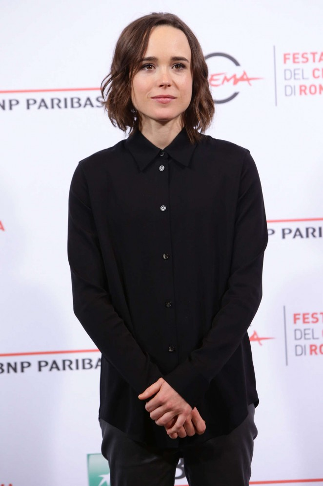 Ellen Page – 'Freeheld' Photocall in Rome