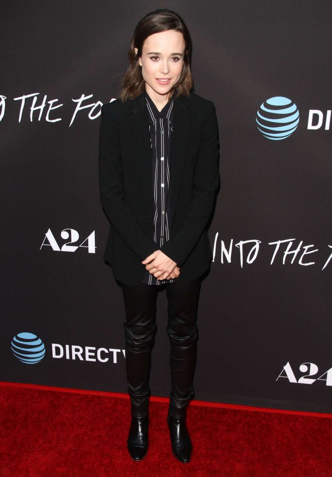 Ellen Page - 'Into The Forest' Premiere in Hollywood