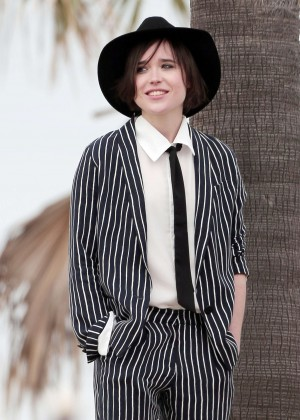 Ellen Page on a Photoshoot in LA