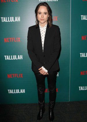 Ellen Page - 'Tallulah' Screening in New York City