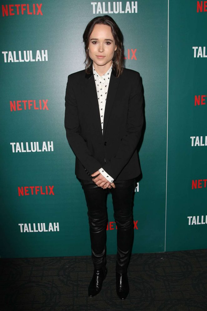 Ellen Page – 'Tallulah' Screening in New York City