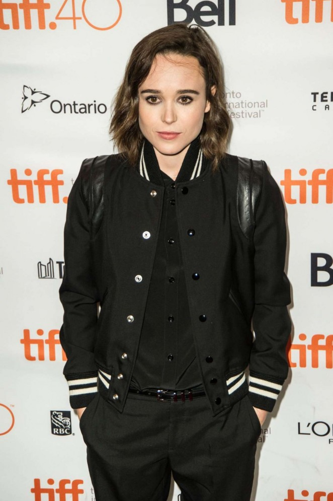 Ellen Page - 'The 'Into the Forest' Premiere at 2015 TIFF in Toronto