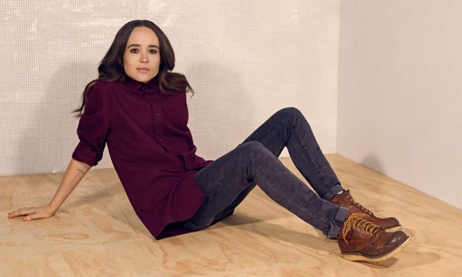 Ellen Page – The Observer Magazine (January 2019)