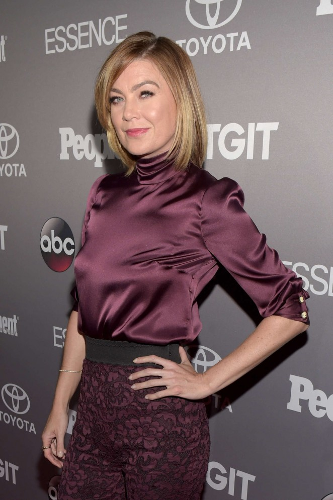Ellen Pompeo - ABC's TGIT line-up Celebration in West Hollywood