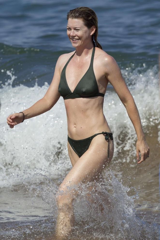 Emmanuelle chriqui bikini candids at miami beach