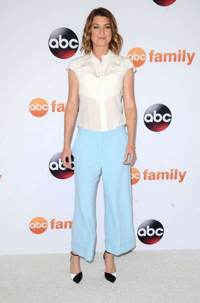 Ellen Pompeo - Disney ABC 2015 Summer TCA Press Tour Photo Call in Beverly Hills
