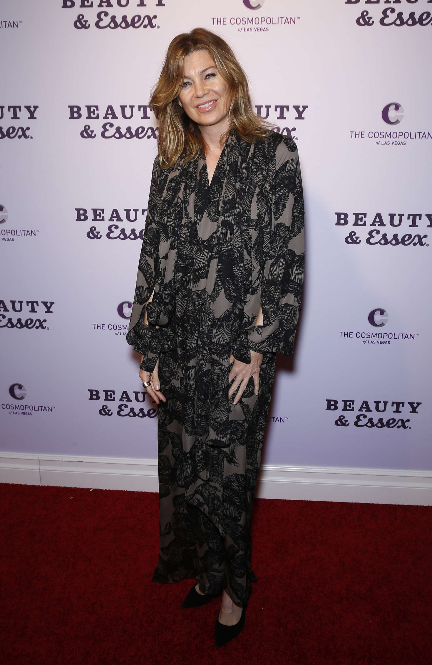 Gabriella Onion Booty with ellen pompeo - grand opening of beauty and essex in las vegas