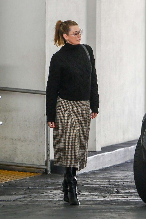 Ellen Pompeo - Leaves E Baldi in Beverly Hills