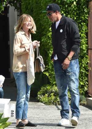 Ellen Pompeo - Leaves The Andy LeCompte in West Hollywood