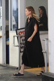 Ellen Pompeo - Leaving E Baldi restaurant in Beverly Hills