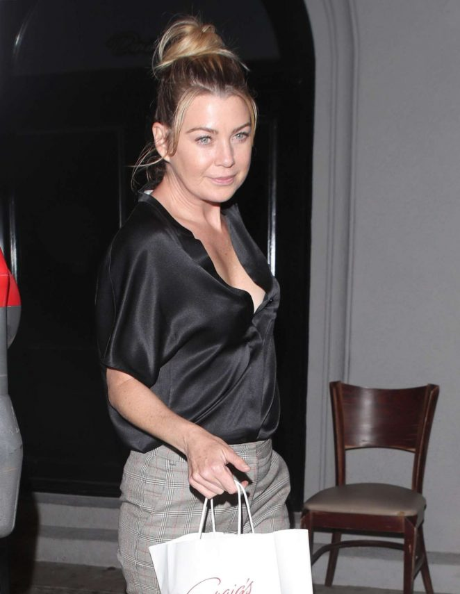 Ellen Pompeo - Night Out in West Hollywood