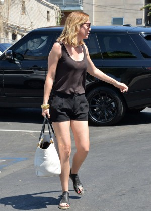 Ellen Pompeo in Shorts Out in Beverly Hills