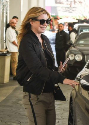 Ellen Pompeo - Out in Los Angeles