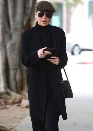 Ellen Pompeo - Out in West Hollywood