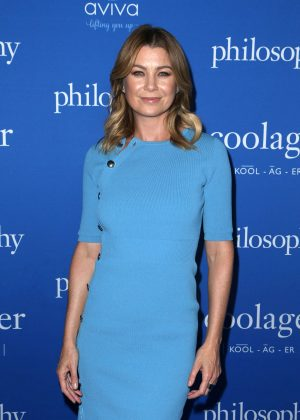 Ellen Pompeo - Philosophy And Ellen Pompeo Welcome You To The Age Of Cool in West Hollywood