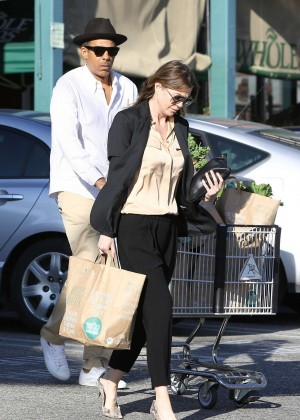 Ellen Pompeo - Shopping at Whole Foods in West Hollywood